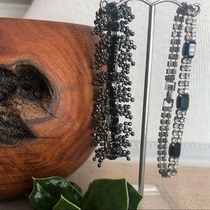 Jewelry - Set of Rhinestone Bracelets